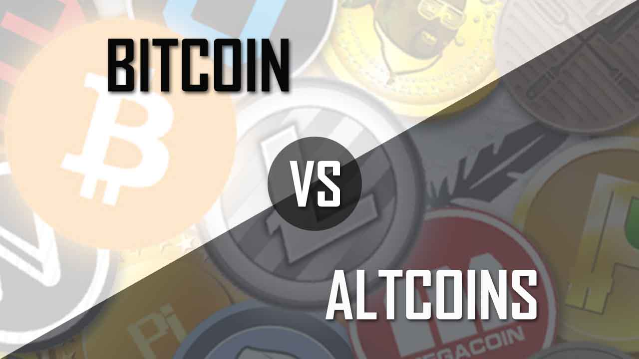 bitcoin-vs-altcoins